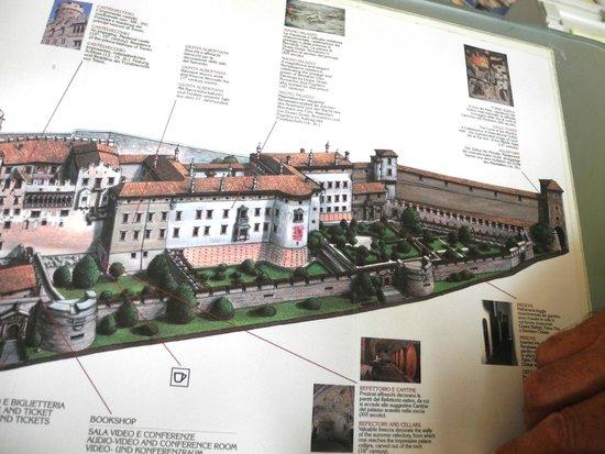 Castello del Buonconsiglio Monumenti e Collezioni Provinciali : depliant
