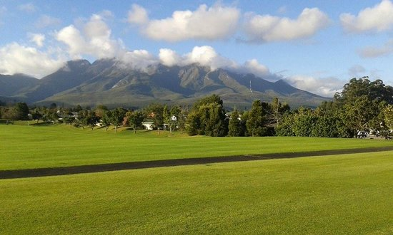 Fancourt: View from the golf warm up area