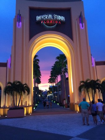 Hard Rock Hotel at Universal Orlando: Sunset
