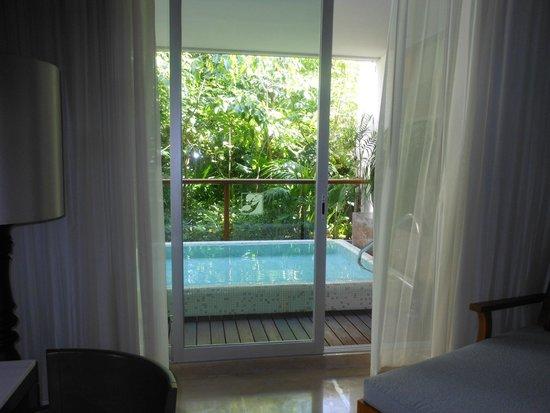Grand Luxxe Riviera Maya: View of plunge pool