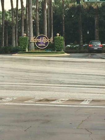 Hard Rock Hotel at Universal Orlando: Entrance