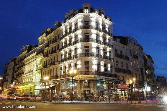 Hotel Orts: вид с улицы