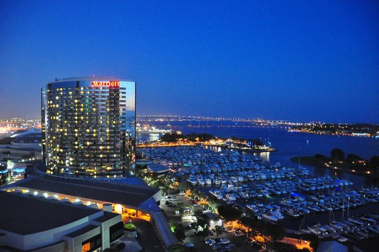 Manchester Grand Hyatt San Diego: View from 16th floor