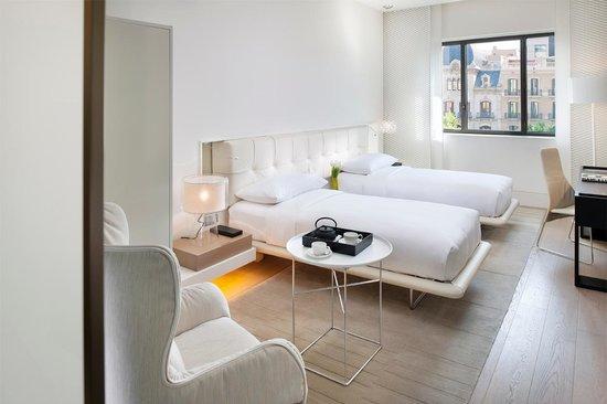 Mandarin Oriental, Barcelona - Deluxe Boulevard Twin Room