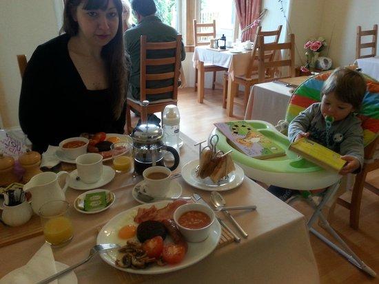 Craigside Lodge Guesthouse: Una bella colazione per partire alla grande