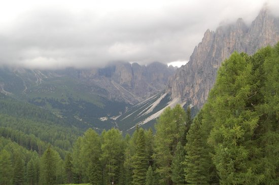 Rifugio Ciampedie: Vista camera