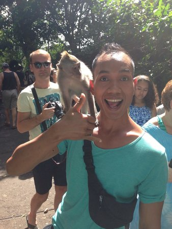 Mano Tour Guide Bali: Кетут и его друг