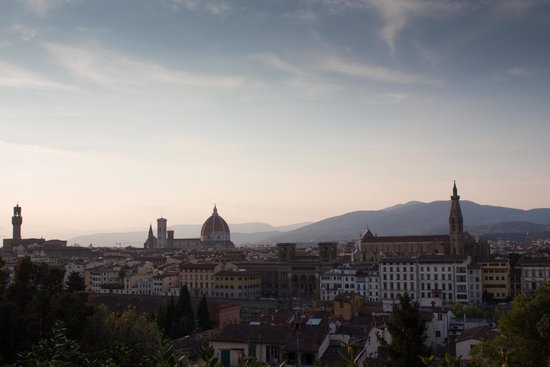 Italian Florence: View Of Florence From Piazzale Michelangelo