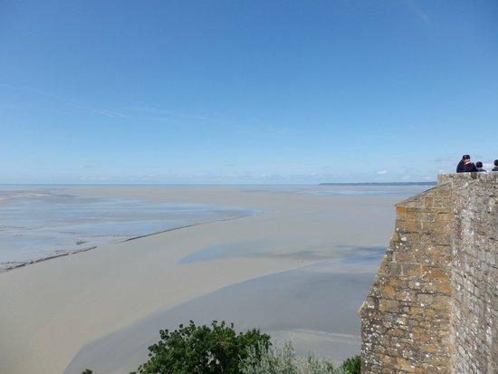 Abbaye du Mont-Saint-Michel : Great view