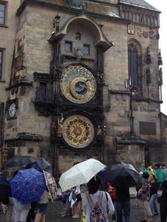 Old Town Square : orologio astronomico