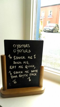 The Oystercatcher Bistro: Ode to an oyster