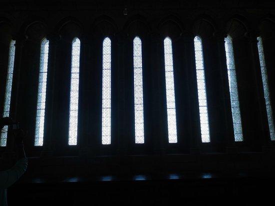 Abbaye du Mont-Saint-Michel : Nice windows