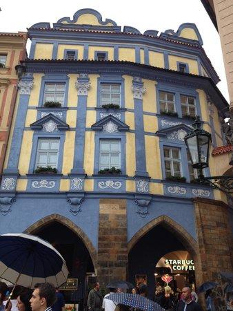 Old Town Square: palazzo della piazza