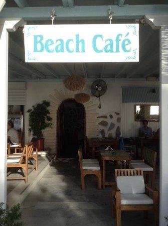 Hotel Paros: Beach Cafe