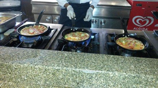La Blanche Resort & Spa : Sabahlari omlet gibisi varmi