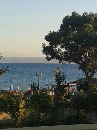 Hotel Ristorante delle Sirene: Vista dalla nostra camera