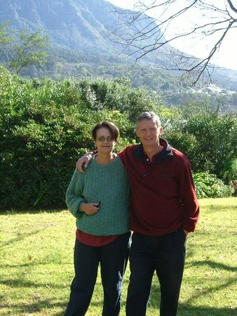 De Zalze Lodge: Andrew and Jenny Wilson