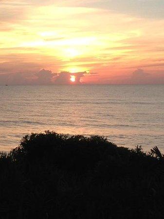 Las Olas Beach Club: Good morning from Room 209!