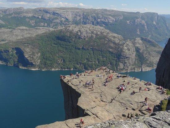 Lysefjord: Скала Проповедника