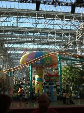 Mall of America: One of the rides in the Amusement park