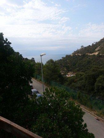 Giverola Resort: Vue appartement