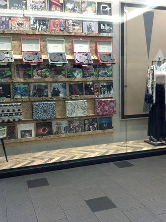 Mall of America: A Record Store with Vinyls