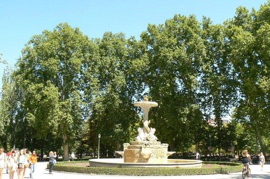 Parque del Retiro: Park