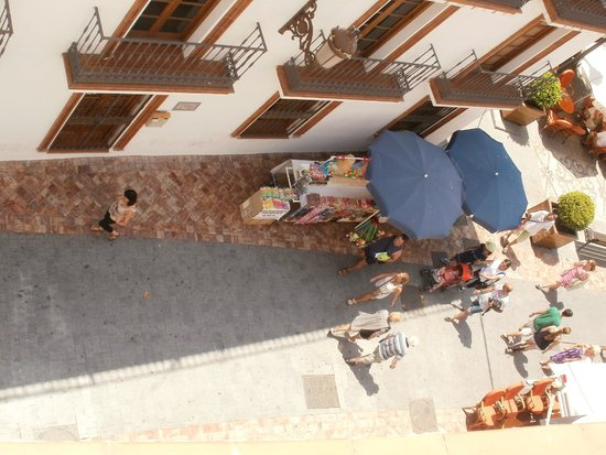 Hotel Puerta del Mar: View from the balcony
