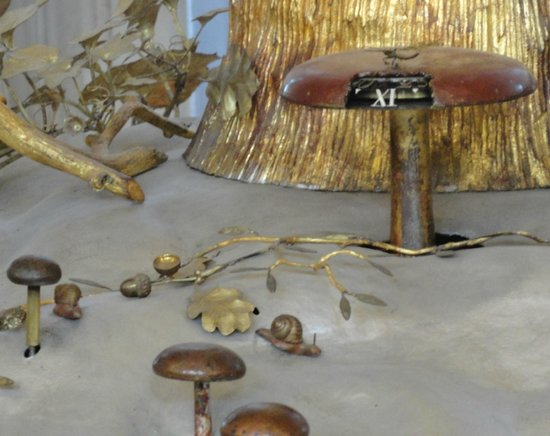 State Hermitage Museum and Winter Palace: l'orologio del pavone. Sono le 11
