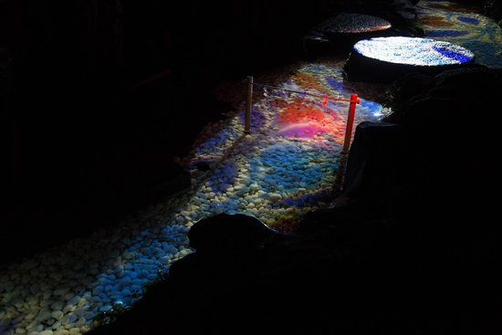 Kawagoe Hikawa Shrine: プロジェクションマッピング
