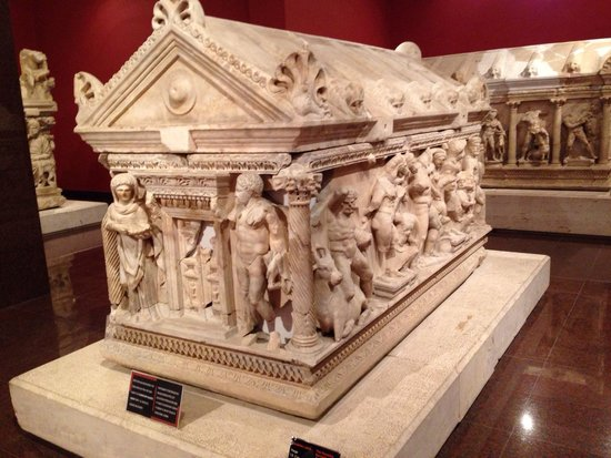 Antalya Muzesi : Sarcophagi gallery