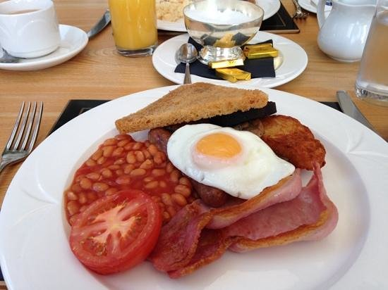 Best Western Buxton Lee Wood Hotel: The Full English