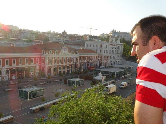 Hotel Acta Madfor : Vista do nosso quarto