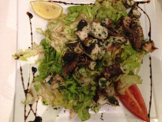 L'Entracte: Salade de poulpe