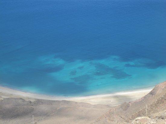 Mirador del Rio: fondo marino cristallino...da circa 100metri di altezza!!!