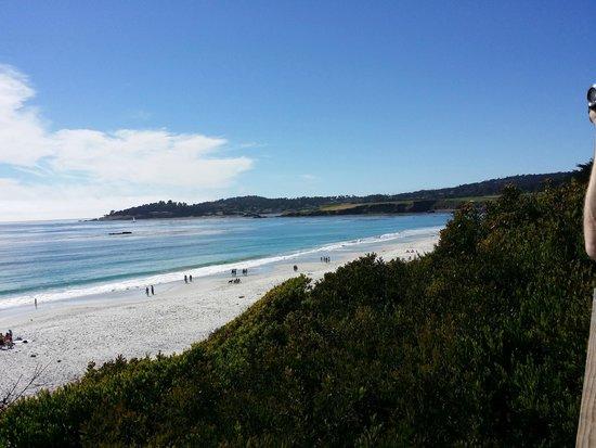 Carmel City Beach / Carmel River Beach: The beautiful view of Carmel Beach