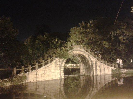 Jiangxin Island : Bridge