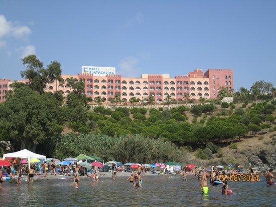 Playacalida Spa Hotel: vista desde la playa