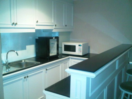 Kitchen Set With Microwave Picture Of Kartika Chandra Hotel
