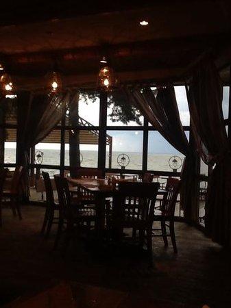 "Russian Fishing Restaurant in Komarovo: Прекрасный вид ""Русской рыбалки""!"