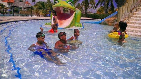 Occidental Caribe: Piscina de niños