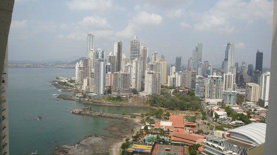 Trump International Hotel & Tower Panama: VISTAS DESDE LA HABITACION
