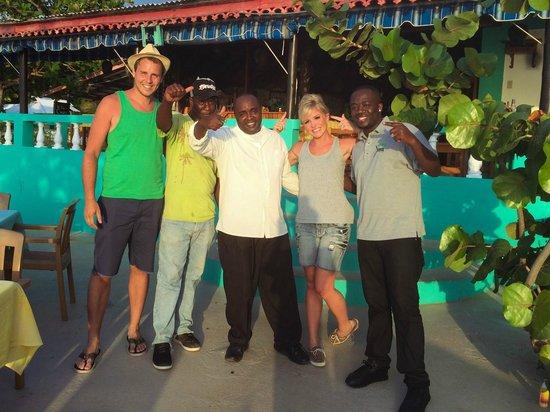 Xtabi Resort : Xtabi staff