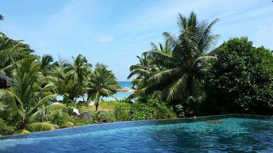 Constance Lemuria: Vue de la piscine..