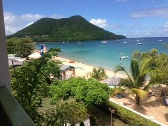 Bay Gardens Beach Resort: View from our Suite