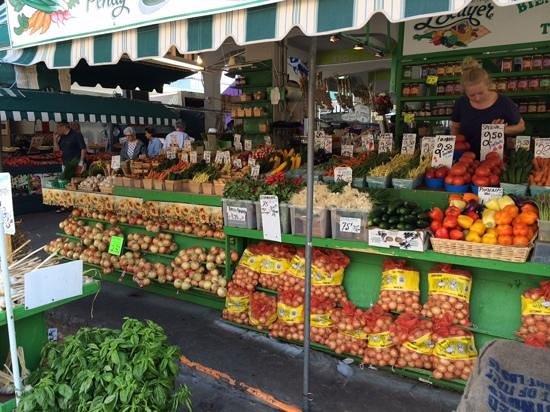 Marché Jean-Talon (Jean-Talon Market) : le delice pour les yeux