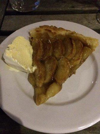 El Hotelito: tarta de manzana