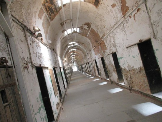 Eastern State Penitentiary : one of the cellblocks