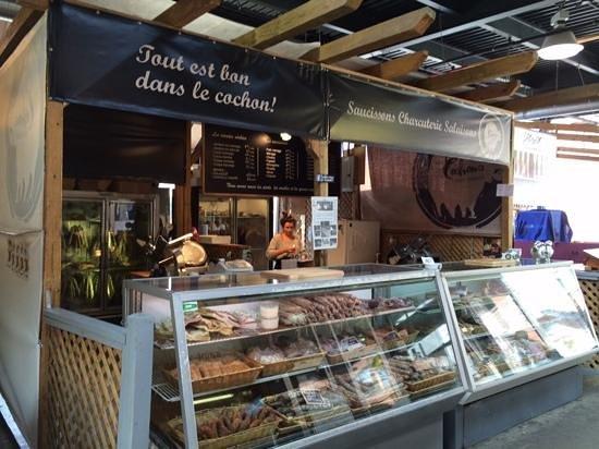 Marché Jean-Talon (Jean-Talon Market) : tout est bon dans le cochon
