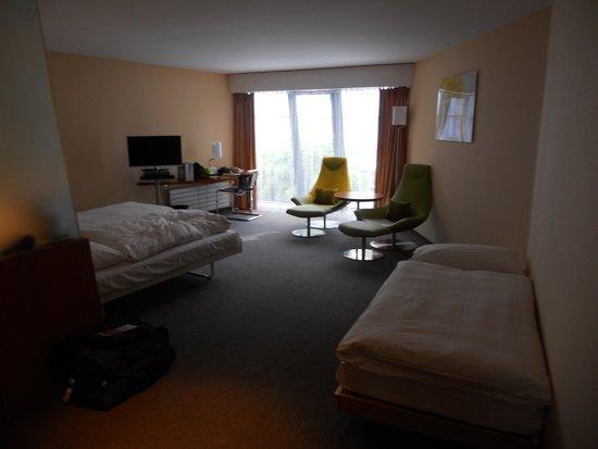 Hotel Alpha-Palmiers: vue de l entrée de la chambre